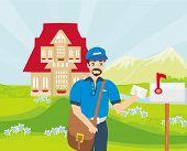 ������, ������: Happy Postman