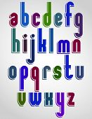 stock photo of verbs  - Colorful animated font - JPG