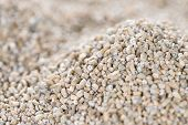 picture of grout  - Heap of Rye for use as background image or as texture