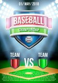 pic of announcement  - Background for posters baseball stadium game announcement - JPG