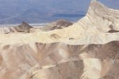 stock photo of arid  - Death valley an arid landscape California USA arid landscape California USA - JPG