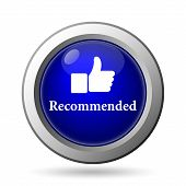 image of recommendation  - Recommended icon - JPG