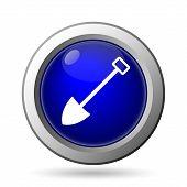 picture of shovel  - Shovel icon - JPG