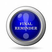 picture of reminder  - Final reminder icon - JPG