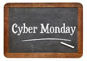 picture of monday  - Cyber Monday sign  - JPG