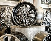 pic of alloy  - Various alloy wheels in store  - JPG