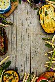 pic of white asparagus  - Asparagus  - JPG