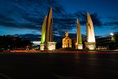 foto of democracy  - Democracy Monument give more meaning to the Thai people - JPG