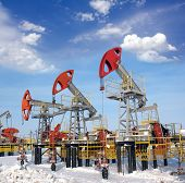 pic of oil rig  - Oil and gas industry - JPG