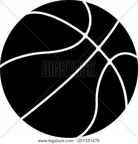Basketball Ball Sport Supplies Icon