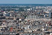 View Over The Roofs Of The City Of Paris, Paris, France, Europe poster