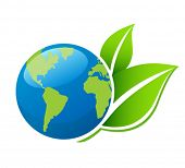 pic of planet earth  - Planet Ecology icon - JPG