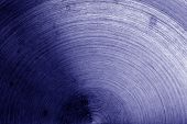 Metal Surface With Scratches In Blue Tone. Abstract Background And Texture For Design. poster