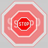 Stop Sign, Stop Sign Icon, Stop Sign, Traffic Sign Stop poster