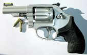 Revolver With Cartridges