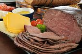 Roast Beef Sandwich Fixings