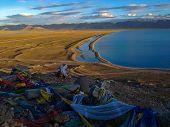 Namtso Or Lake Nam (heavenly Lake) Is A Mountain Lake On Border Between Damxung And Baingoin County  poster