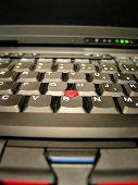Laptop Notebook Keyboard poster