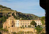 picture of parador  - Parador nacional of Cuenca in Castille La Mancha Spain - JPG