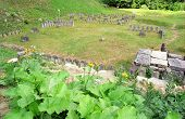 Sarmizegetusa Regia Ruins (situated at 1200m altitude  - it was the strategical centre of the dacian