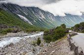 image of troll  - Beautiful valley Troll Route Norway  - JPG