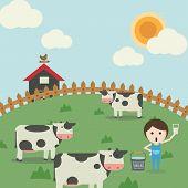 Постер, плакат: Farm life