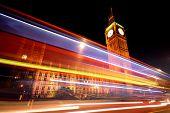 picture of london night  - Big Ben - JPG