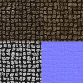 picture of diffusion  - Pavement seamless generated texture  - JPG