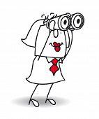 image of binoculars  - The binoculars - JPG