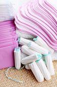 stock photo of menses  - feminine hygiene  - JPG