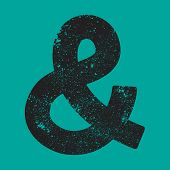 stock photo of ampersand  - A vector icon of an ampersand symbol - JPG