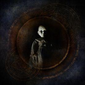 image of occult  - Sinister doll - JPG