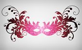 picture of masquerade mask  - carnival mask - JPG