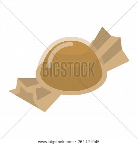 poster of Packed Truffle Icon. Isometric Of Packed Truffle Vector Icon For Web Design Isolated On White Backgr