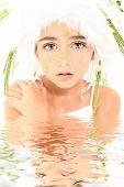 Постер, плакат: Русалка Принцесса фея воды роль играют костюм персонажа