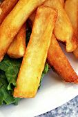 image of french fries  - Close - JPG