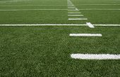 Football field yard lines
