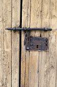stock photo of luzon  - Traditional door lock l in LUZON - JPG
