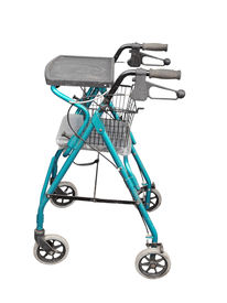 image of zimmer frame  - Wheeled Zimmer Frame isolated with clipping path - JPG