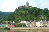 Cochem Castle And River Mosel