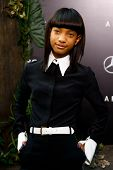 NUEVA YORK - 29 de mayo: Actriz Willow Smith asiste a la Premier de