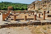 stock photo of exhumed  - Portuguese Roman ruins in Conimbriga - JPG