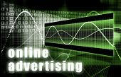 Постер, плакат: Реклама онлайн