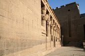 stock photo of aswan dam  - The ancient Egyptians called the Philae islands  - JPG
