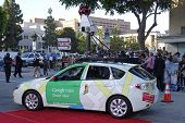 LOS ANGELES - MAY 29: Google car at the premiere of 'The Internship' at the Regency Village Westwood