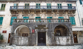 picture of pima  - Ancient palace of the 17th century Pima family in Kotor Montenegro - JPG