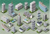 Isometric European Buildings