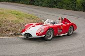 Old Racing Car Bandini 750 Sport