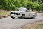 Vintage Rally Car Bmw