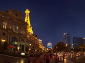 Las Vegas, Nv -  June 12, 2013: Paris Las Vegas On June 12, 2013 In Las Vegas. It Includes A Half Sc